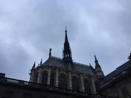 Ansicht Sainte Chapelle außen