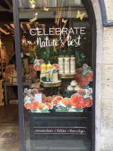 Schaufenster Sabon Nature's Best