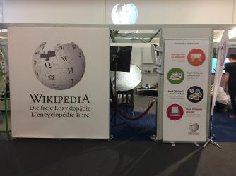 Wikipedia das erste Mal auf der Frankfurter Buchmesse