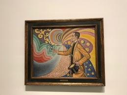 Paul Signac - Portrait de Félix Fénéon