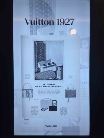 Werbeanzeige von Louis Vuitton 1927