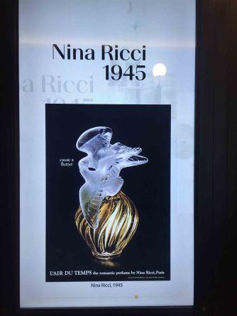 Werbeanzeige von Nina Ricci 1945