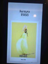 Werbeanzeige von Kenzo 1988