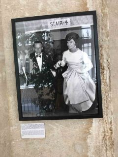 Jackie Kennedy avec Frank Sinatra